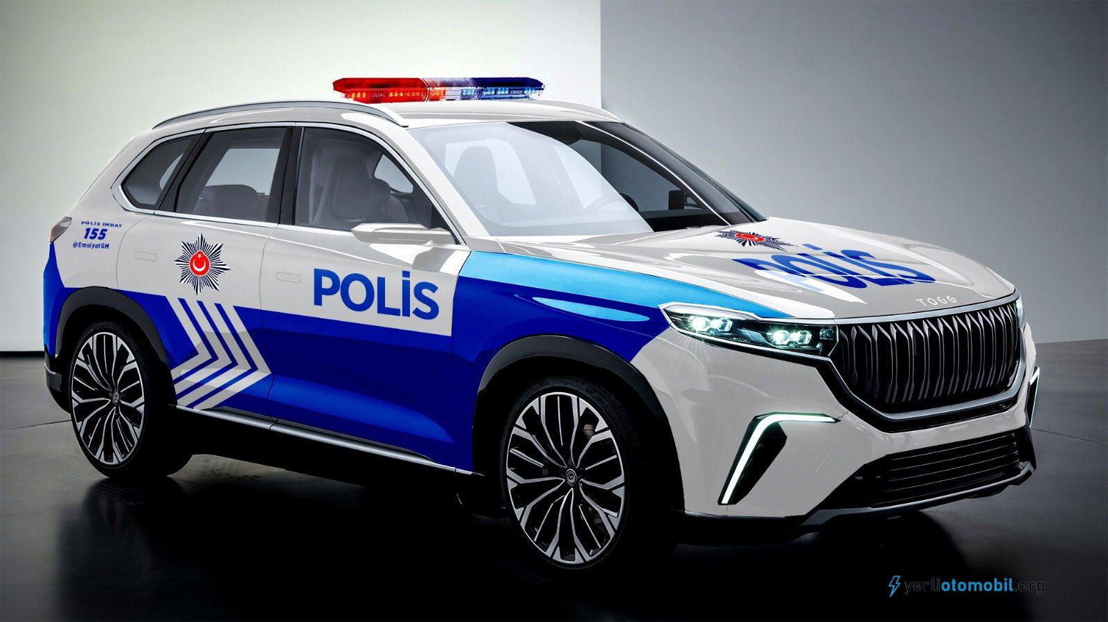 Yerli Otomobil Polis arabası