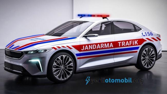 Yerli Otomobil Jandarma arabası