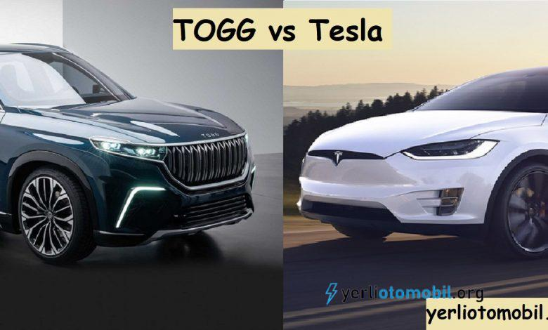 Tesla ve TOGG karşılaştırma