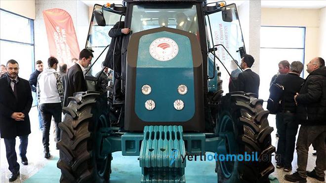 Milli ve Yerli Elektrikli Traktör Görüntülendi