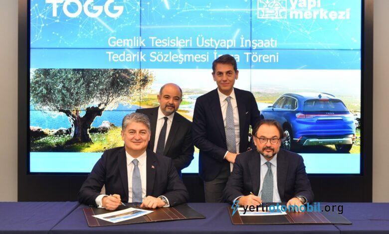 Anlaşma Duyuruldu! Yerli Otomobil TOGG inşaatını hangi firma yapacak?