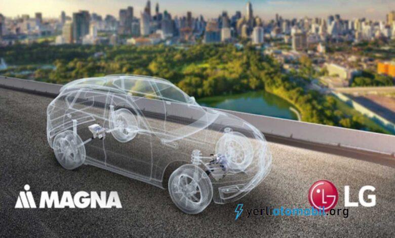 LG elektrikli otomobil piyasasına giriyor!