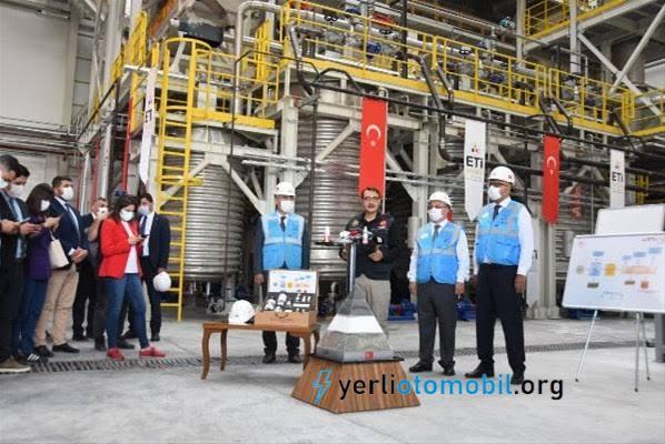 Türkiye'nin ilk lityum tesisi açılıyor!