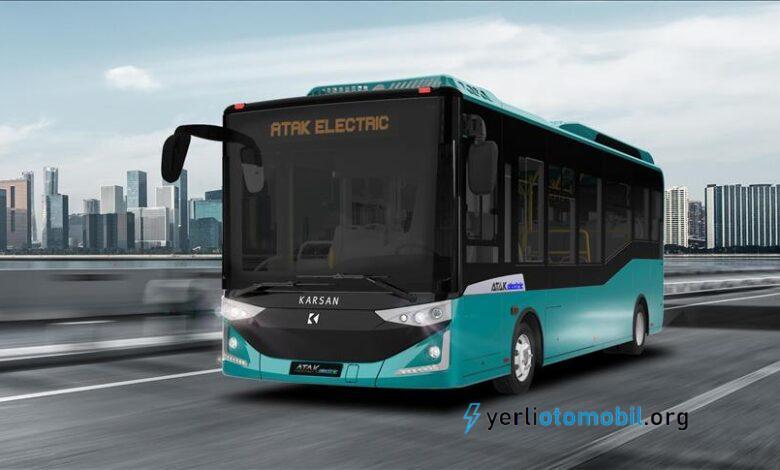 Karsan elektrikli otobüs teslimatını Romanya'ya gerçekleştirdi