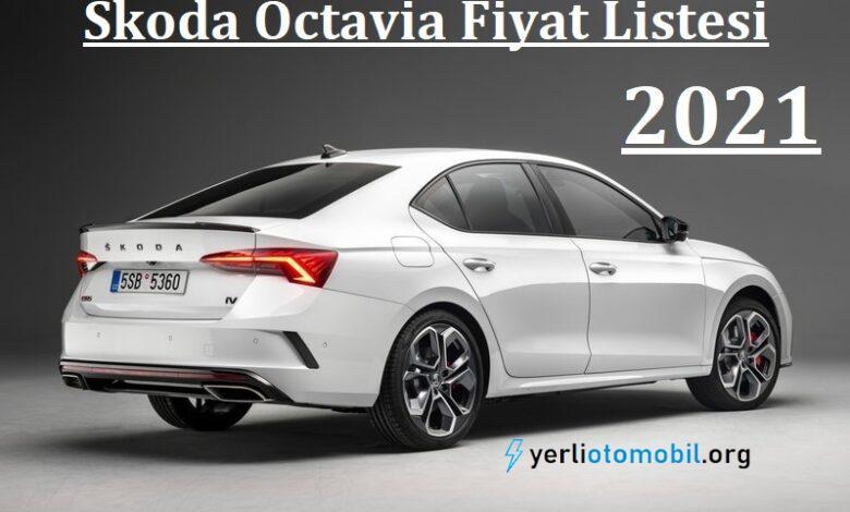 2021 Skoda Octavia Fiyat Listesi