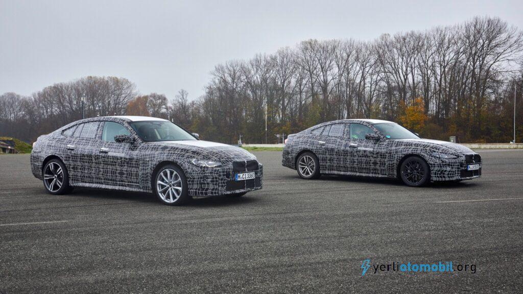 BMW i4 Yol tutuş performansı Model 3'ü geride bırakacak mı?