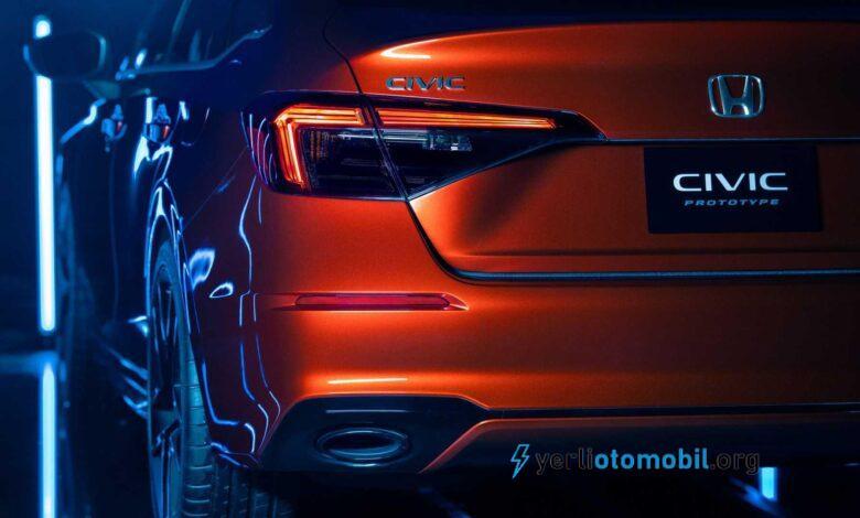 2021 Honda Civic Fiyat Listesi