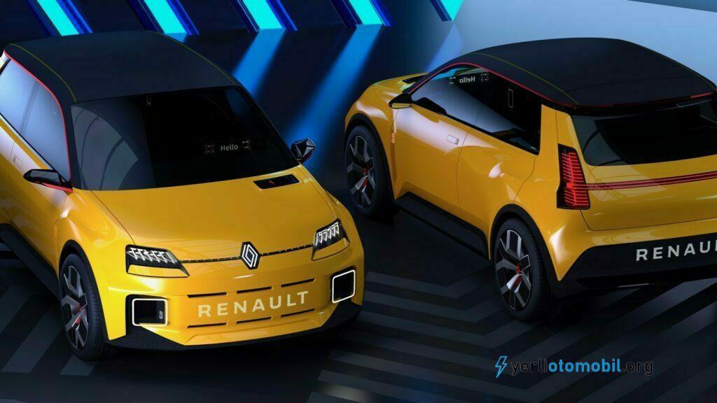 Renault 5 Prototipi Görüntülendi