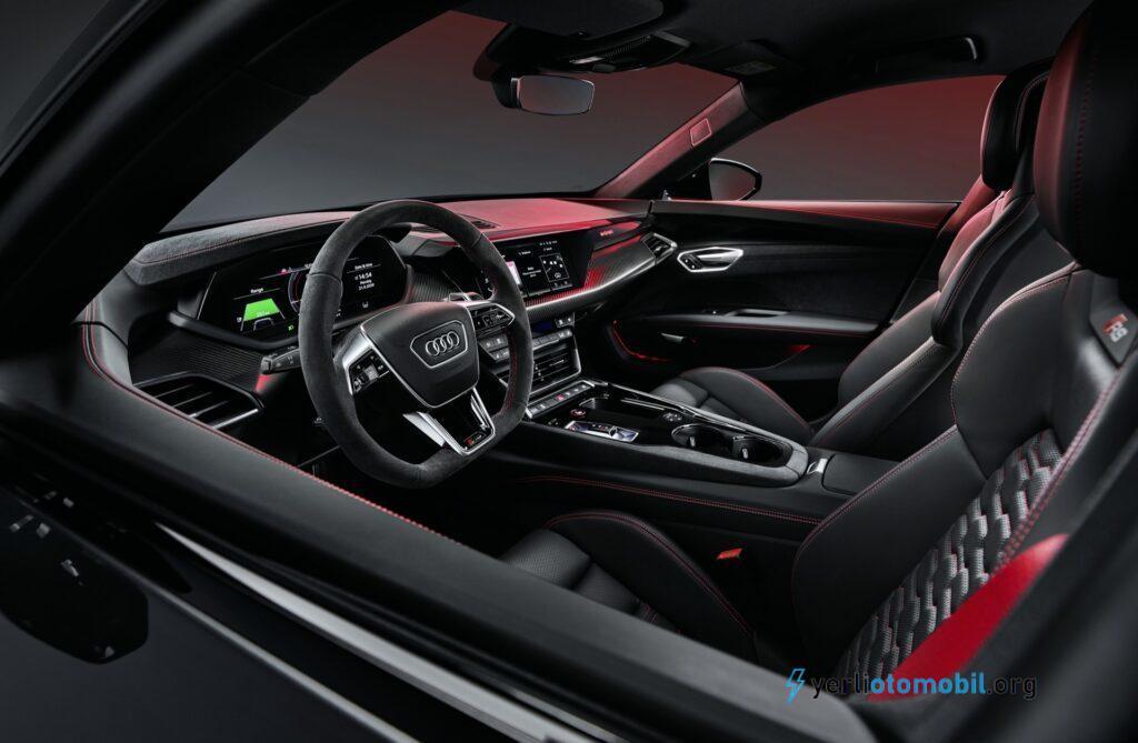 2022 Audi E-Tron GT Menzili 390 KM Geliyor!