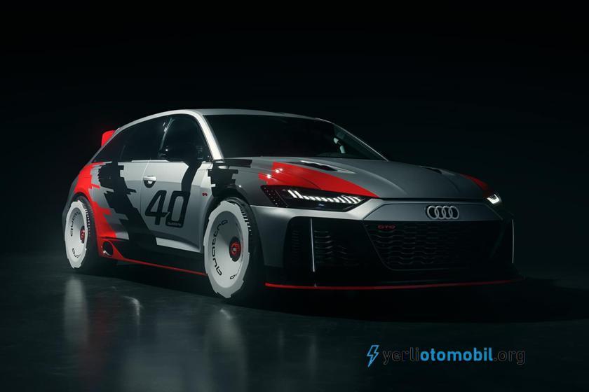 Audi RS6 GTO Konsepti Quattro'nun 40. Yılını Kutluyor!