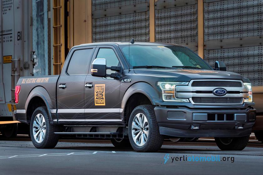 Elektrikli Ford F-150'nin lansmanı 2021 son çeyrekte olacak!