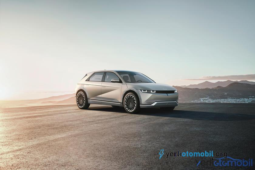 Hyundai Ioniq 5 şık tasarımı ve iç mekanı ile ortaya çıktı