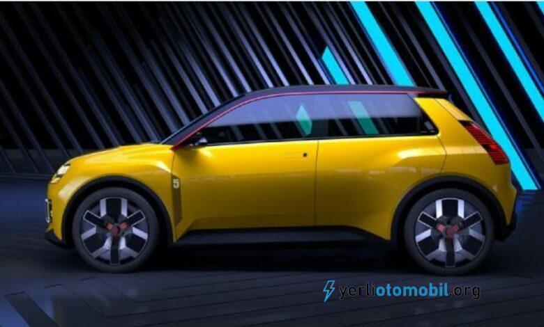 Renault 4 elektrikli olarak geri dönüyor!