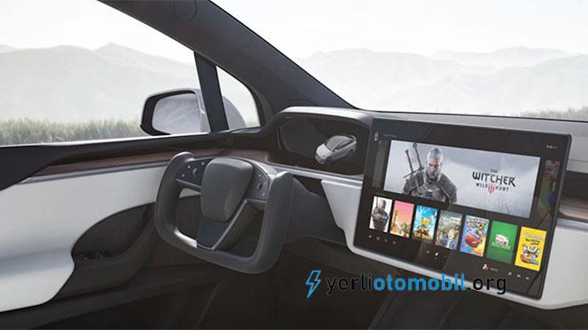 2021 Tesla Model S direksiyonu göründü! Tesla severler eleştiriyor!