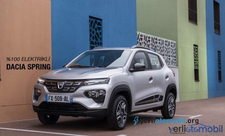 Elektrikli Dacia Spring Türkiye Fiyatı ne kadar olacak?