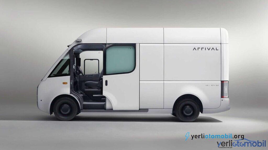 Elektrikli kargo aracı Arrival Van hakkında detaylar yazımızdadır. Arrival Van için yol denemeleri bu yaz başlayacak, üretimi ise 2022'de yapılması bekleniyor.