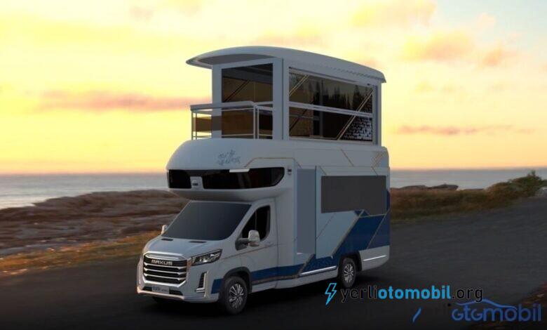 Asansörlü Karavan SAIC Maxus Life Home V90 Villa Edition