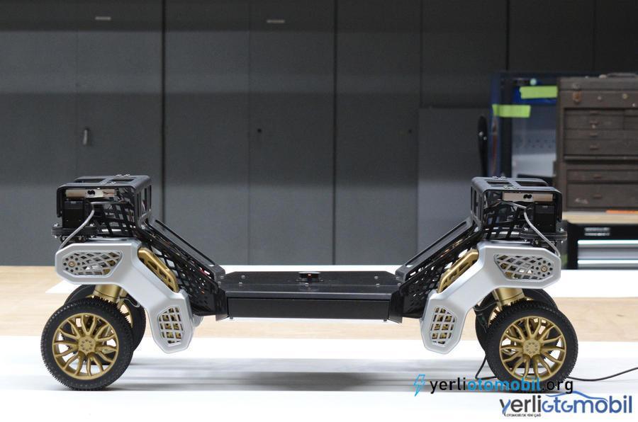 Dört ayaklı otonom Hyundai Tiger konsepti tanıtıldı