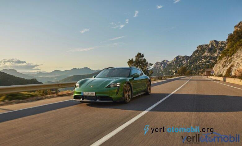 Elektrikli spor otomobil Porsche Taycan Cross Turismo Türkiye'ye ne zaman gelecek