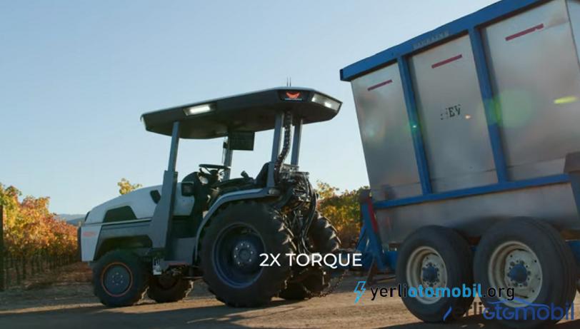 Monarch akıllı traktörü olarak elektrikli sürücüsüz traktör modelini tanıttı. Kendi kendine ekip biçen traktör ve Yapay zeka destekli traktör