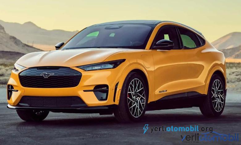 Ford Mustang Mach-E modelini geri çağırıyor!