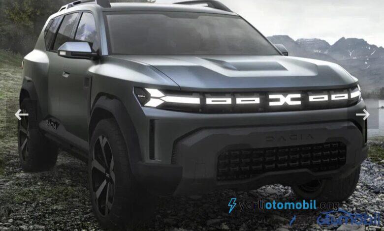 Dacia Bigster SUV konsepti görüntüleri geldi!