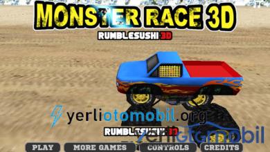 İki Kişilik 4x4 Araba Yarışı Oyna