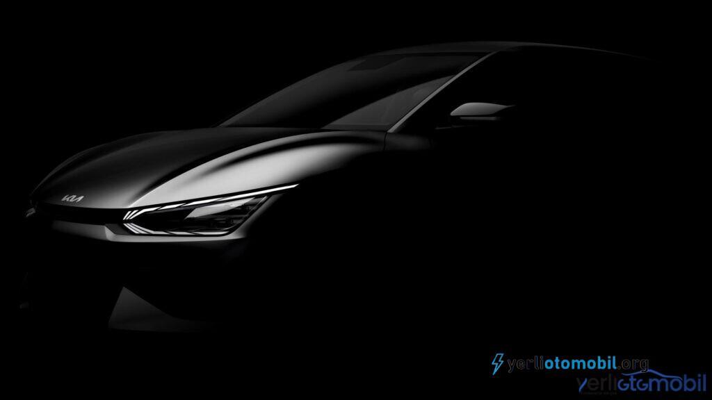 Kia EV6 elektrikli araba görüntüsü paylaşıldı! İlginç detay kaşımıza çıktı. Kia EV6 elektrikli otomobili bildiğimiz Crossover modellerine