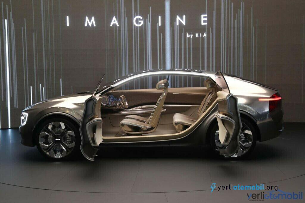 Kia EV6 elektrikli araba görüntüsü paylaşıldı İlginç detay