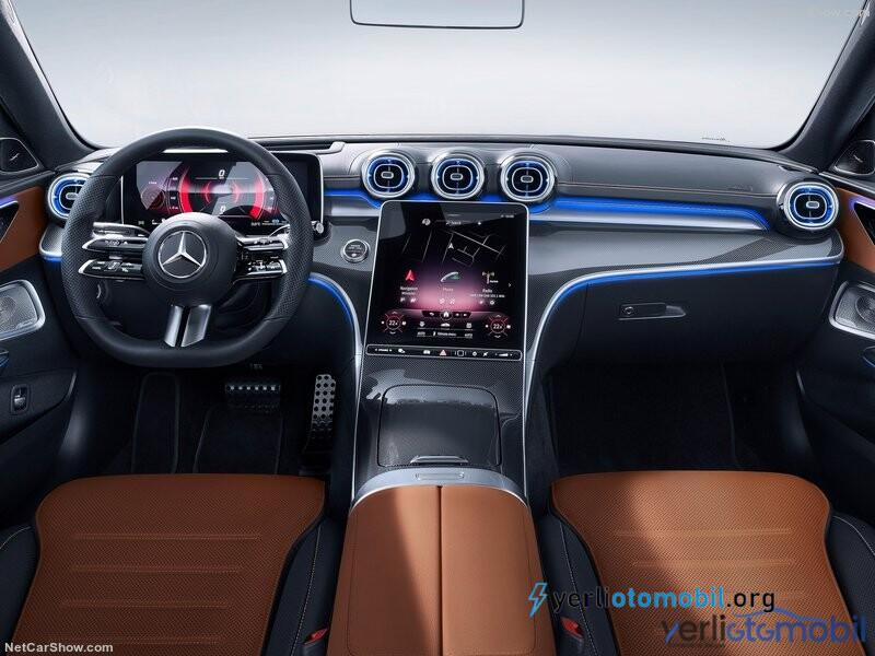2022 Mercedes C-Serisi hafif hibrit ile tanıtıldı!