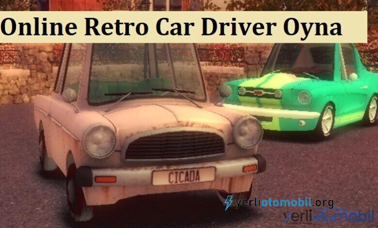 Online Retro Car Driver Oyna