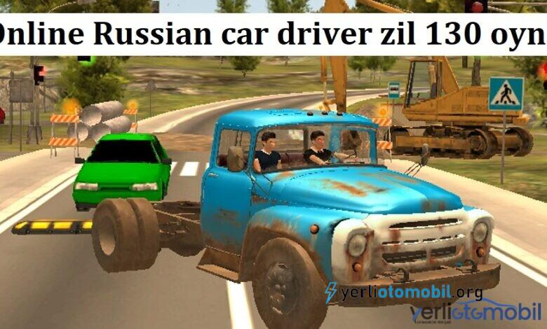 Online Russian car driver zil 130 oyna