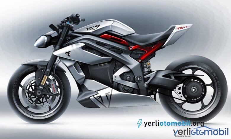 Triumph elektrikli motosiklet üzerinde Williams bataryası kullandı!