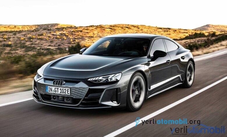 Audi RS E-Tron GT'nin hızlanma videosu