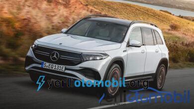 2021 Mercedes EQB ortaya çıktı! Firma lükse doymuyor!