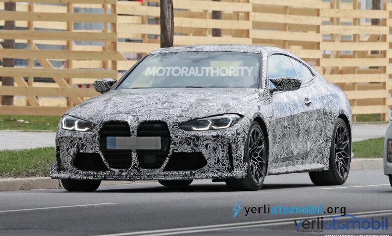 2023 BMW M4 CS casus fotoğrafları paylaşıldı