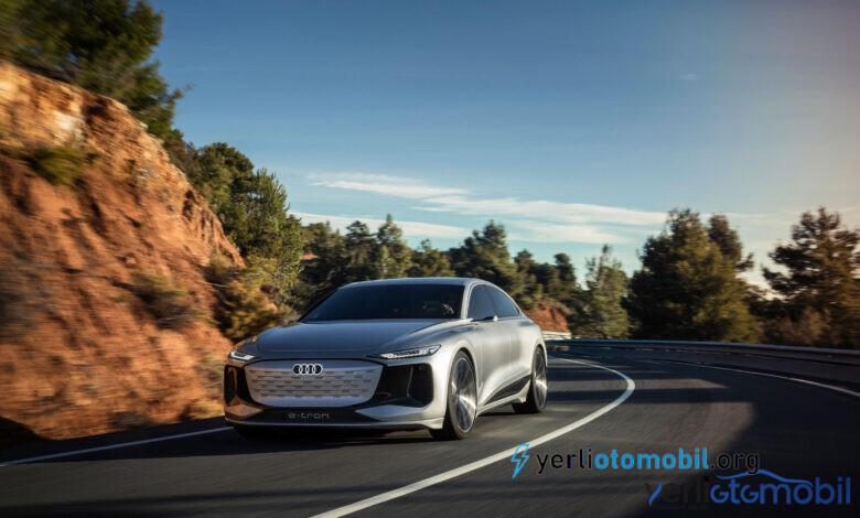 Audi A6 e-tron konsepti görücüye çıktı!