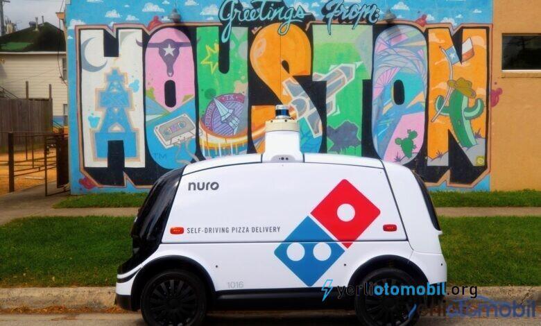 Dominos Sürücüsüz Robot Araba ile ABD de Pizza teslimatına başladı!