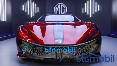 MG Cyberster Elektrikli spor otomobil konsepti paylaşıldı!