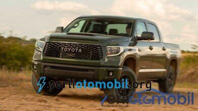 Toyota Elektrikli Kamyonet Yapacağını Söyledi
