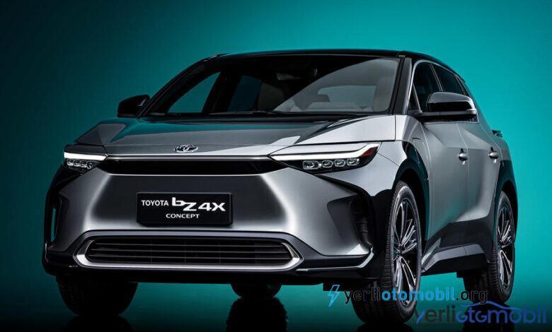 Toyota elektrikli otomobil bZ4X concept ortaya çıktı