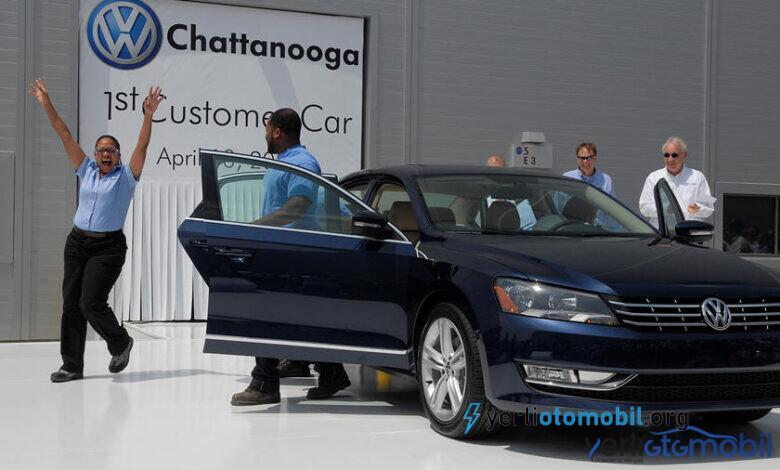 Volkswagen ABD'de Otomobil Üretiminin 10. Yılını Kutluyor
