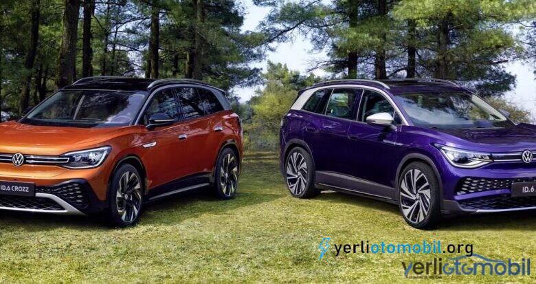 Volkswagen ID.6 Tanıtıldı! Mükemmel Elektrikli SUV