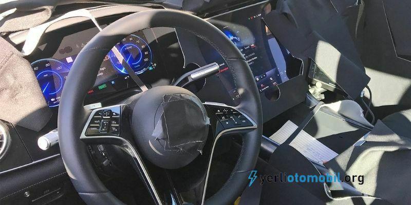 2022 Mercedes-Benz EQS SUV Görüntüleri