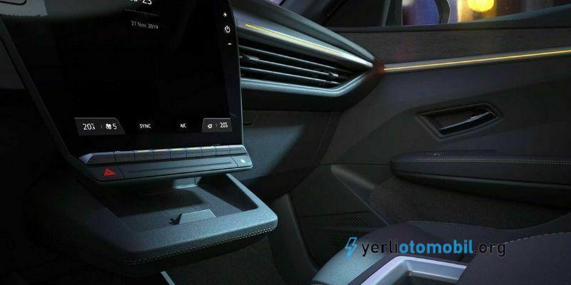 2022 Renault Elektrikli Megane İç Tasarım