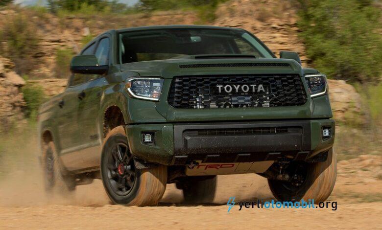 2022 Toyota Tundra Pickup Ortaya Çıktı