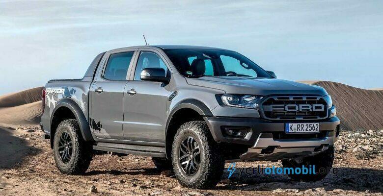 2023 Ford Ranger Raptor görüntüleri