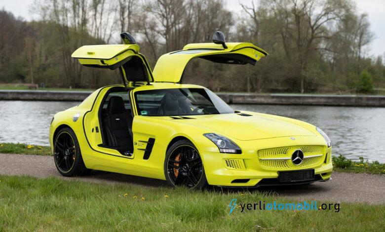 Elektrikli Mercedes SLS Geleceğin Klasiği Olacak