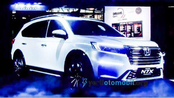Honda N7X Tanıtıldı! Geniş SUV araç detayları neler?