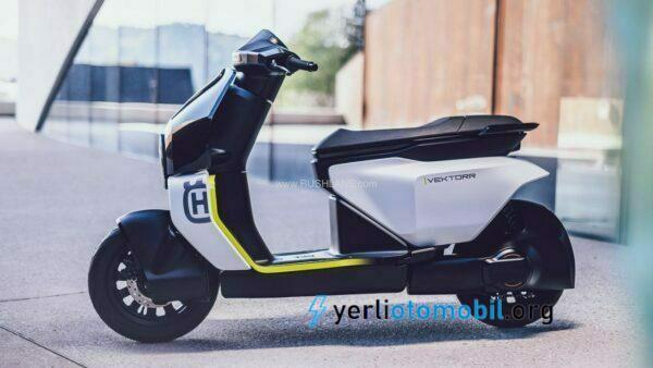 Husqvarna Vektorr elektrikli scooter Konseptini Tanıttı
